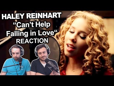 Singers Reaction/Review to 'Haley Reinhart - Cant Help Falling in Love'
