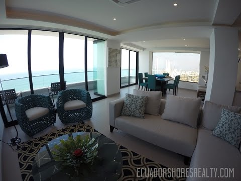 The Poseidon Penthouse *FOR SALE*  Manta Ecuador