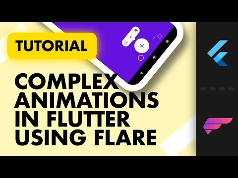Complex Animations in Flutter using Rive   Flare