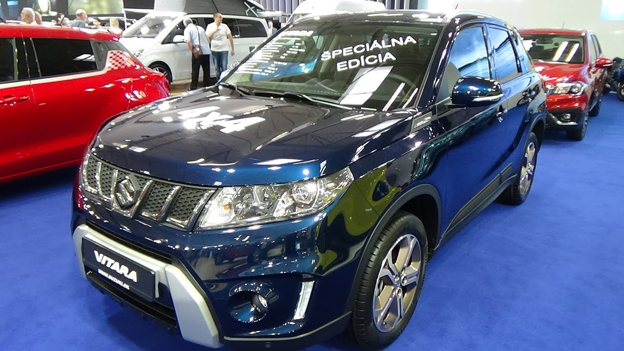 2018 suzuki vitara 1 6 awd copper edition exterior and interior auto salon bratislava 2018. Black Bedroom Furniture Sets. Home Design Ideas