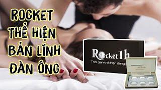 Rocket 1h 🚀 Kéo dài thời gian cho nam giới - có bán lẻ - sản phẩm hot trên lazada sieuthi18