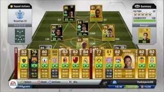 Fifa 13 Rating Review Neymar JR Inform 86 Ultimte Team