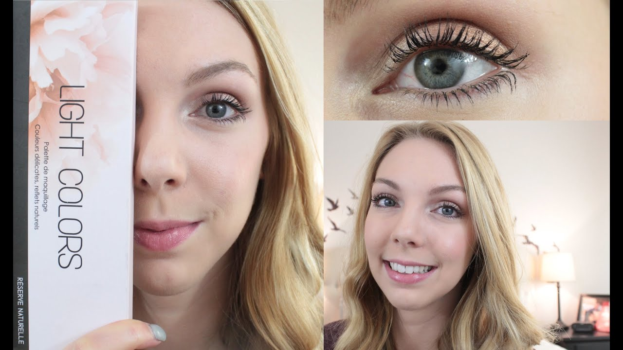Tuto maquillage light colors - Tuto maquillage debutant ...