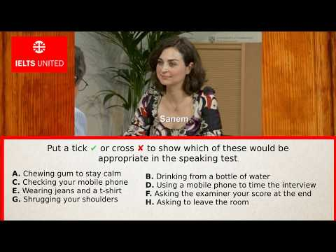 ✔ Real IELTS Speaking Tests: Official Cambridge Guide (Part 1)