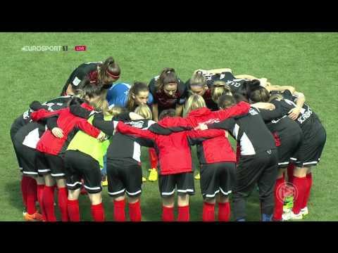 Frauen Bundesliga. SC Freiburg - Bayern München (26/03/2016)