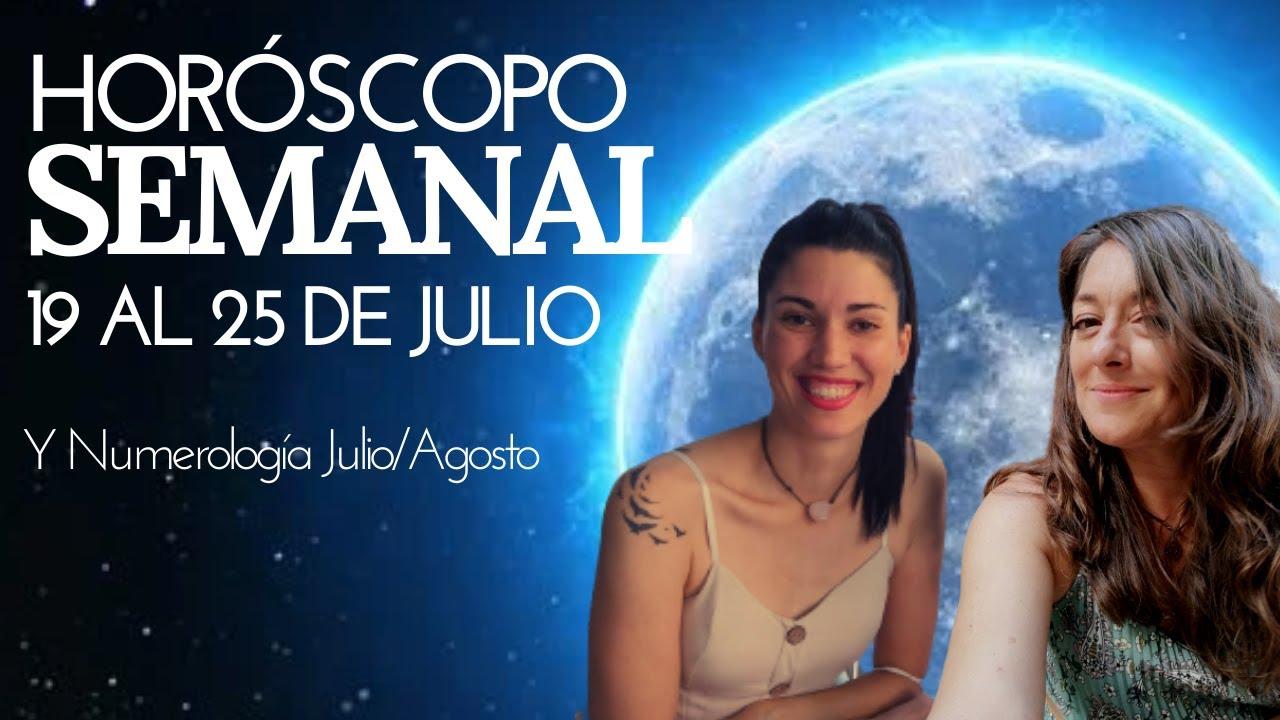 SIGNO POR SIGNO del 19 al 25 JULIO   Predicciones con Eva y Eugenia