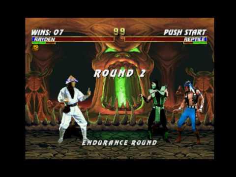 Mortal Kombat Trilogy (PSX) - Longplay as MK1 Raiden