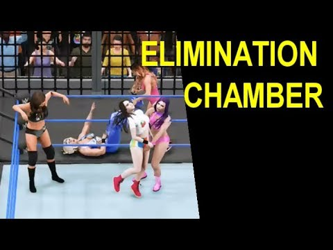 WWE 2K18 Diva Elimination Chamber