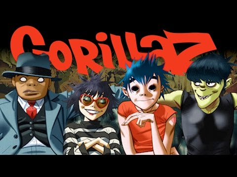 The Gorillaz Animated Series Too Mature For Tv Are These