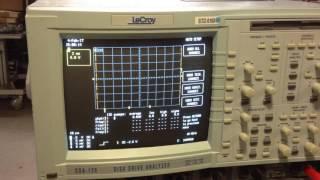 Lecroy DDA-120 Disk Drive Analyzer Oscilloscope