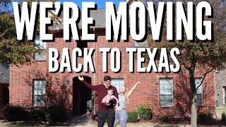 We're Moving Back To Texas!!!   Teen Mom Vlog
