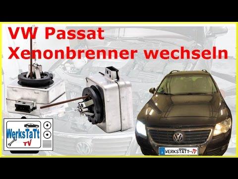 ►VW Passat 3C/B6◄ Xenonbrenner wechseln [Replace Xenon Bulb] ◢WERKSTATT-TV◣