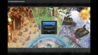jugando Empire Earth 3 (gameplay)