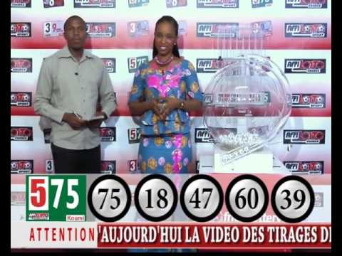LOTO TIRAGE AFRICA LOTTERY COMPANY du 09/05/16
