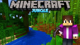 OFF INTO THE DISTANCE TO FIND A JUNGLE BIOME in Minecraft Survival