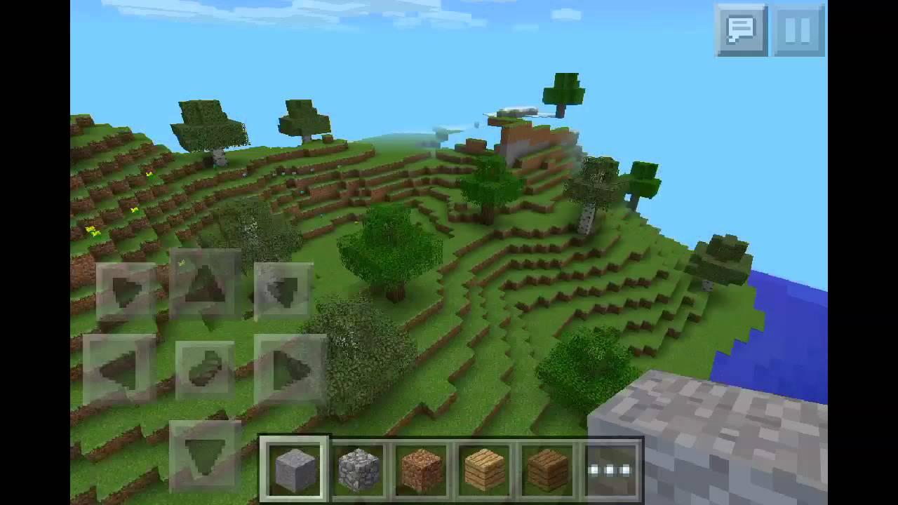 Minecraft Pe 0 8 0 Seed Review  Herobrine