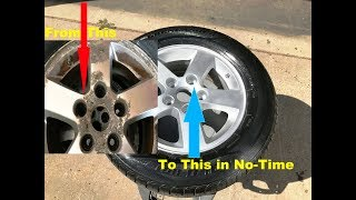 How To OLD SCHOOL Wheel/Rim Re-Conditioning....YOU CAN DO THIS!
