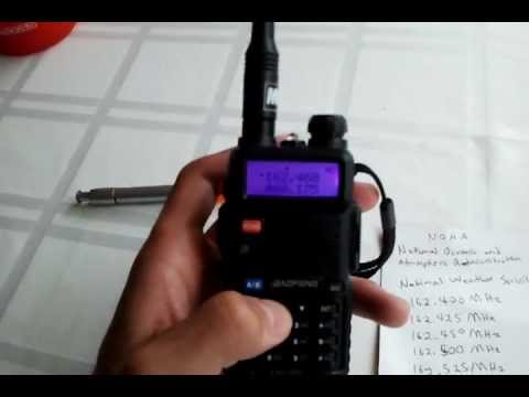 How to listen to Weather Radio (NOAA Broadcasts)