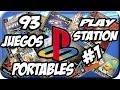 Pack 93 Juegos Portables