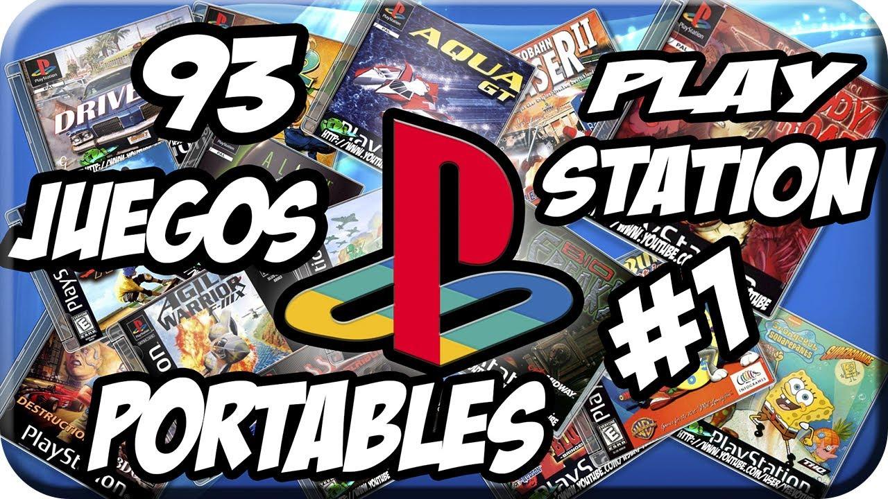 Pack 93 Juegos Portables Play Station 1 Para Pc Youtube