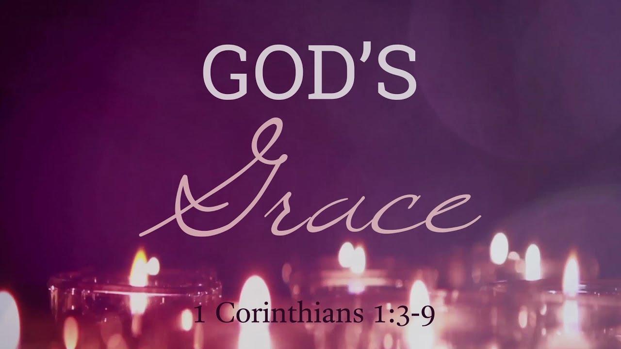 11/29/2020 God's Grace
