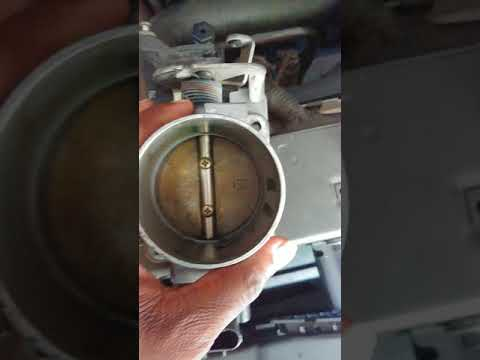 Sticky throttle body fix