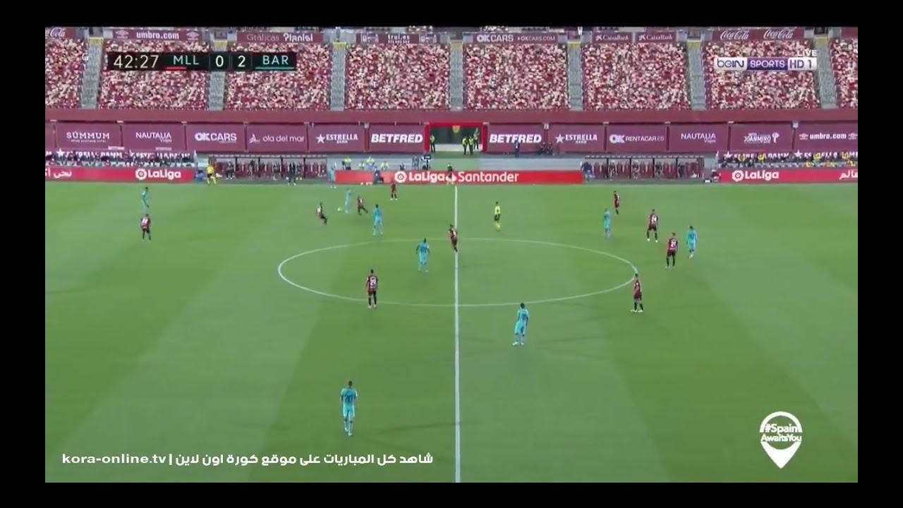 ملخص مباراة برشلونة وريال مايوركا - جنون عصام الشوالى