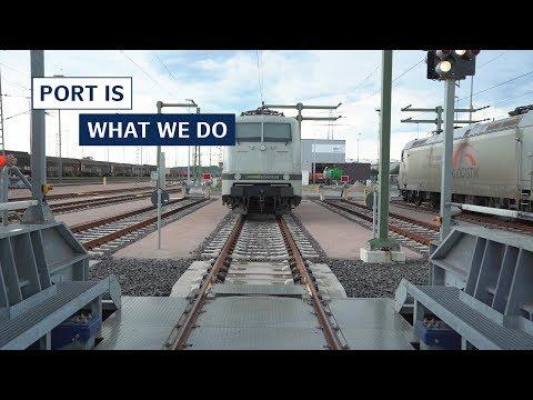 Port of Hamburg is Europe's leading railway port