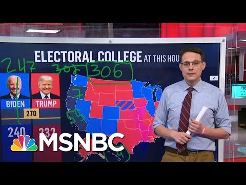 Steve Kornacki Back At The Big Board: Explaining The Electoral College   Deadline   MSNBC