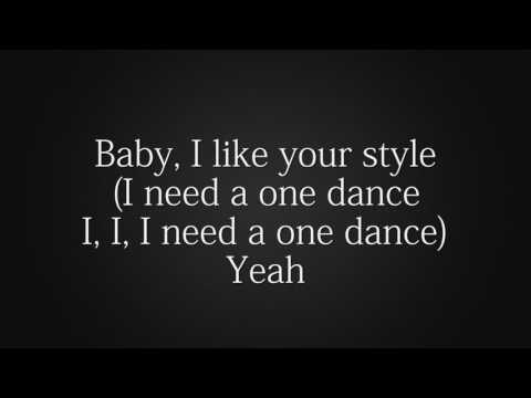 One dance ,dreak letra