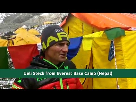 Last video Interview | Ueli Steck at Everest Base Camp (24-04-2017 at EBC Nepal)