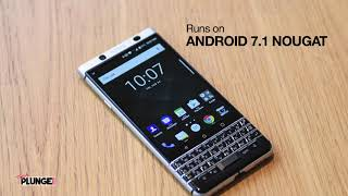 2017 Return of the qwerty Android Blackberry with Key One Limited Edition