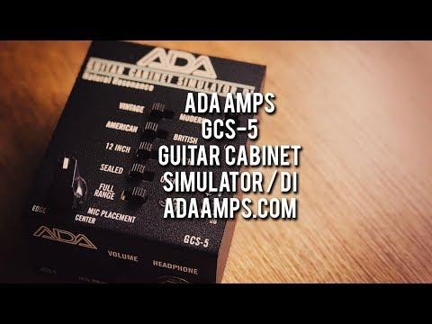 ADA: GCS-5 Guitar Cabinet Simulator / DI