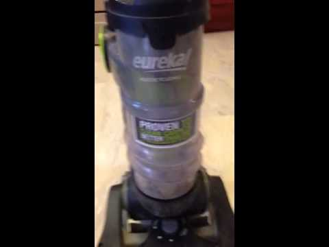 Eureka Multicyclonic Airspeed One Vacuum Problem No Suction YouTube