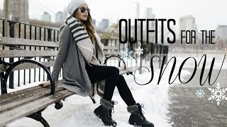 Outfits For The Snow! | What to Wear When It's COLD!