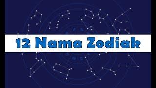 Gambar cover 12 Nama-nama Zodiak, Lambang serta Tanggal dan Bulan Lahir