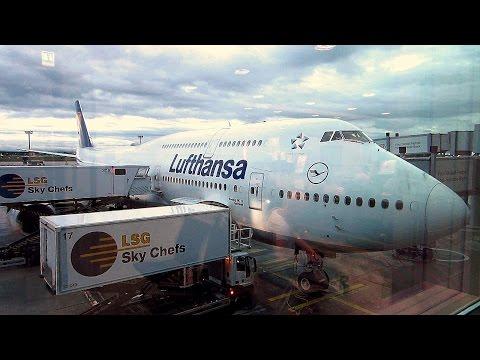 Boeing 747-8i Lufthansa red-eye flight Frankfurt to São Paulo