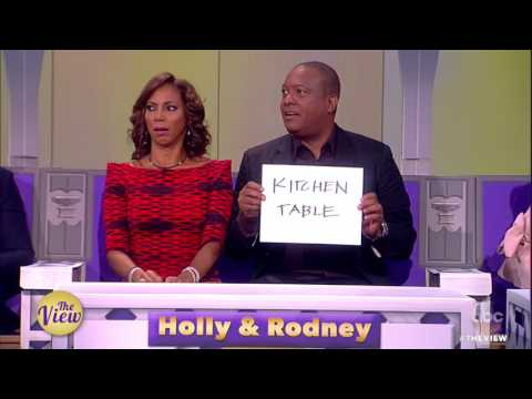 Holly Robinson & Rodney Peete Play