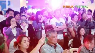 K-Milk Festival 유제품 행사 영상 중국 상…