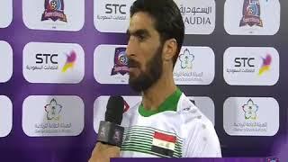 ماذا قال احمد ابراهيم على خسارة المنتخب العراقي 4---0 امام الأرجنتين