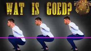 Hoe diep moet je squatten? (parallel squats en kniepijn)