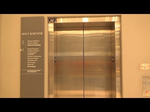 Schindler 330A Elevator at Holt Renfrew, Yorkdale Mall, North York, ON, Canada