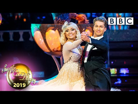 Saffron Barker And AJ Quickstep To 'Marvellous Party' - Blackpool | BBC Strictly 2019