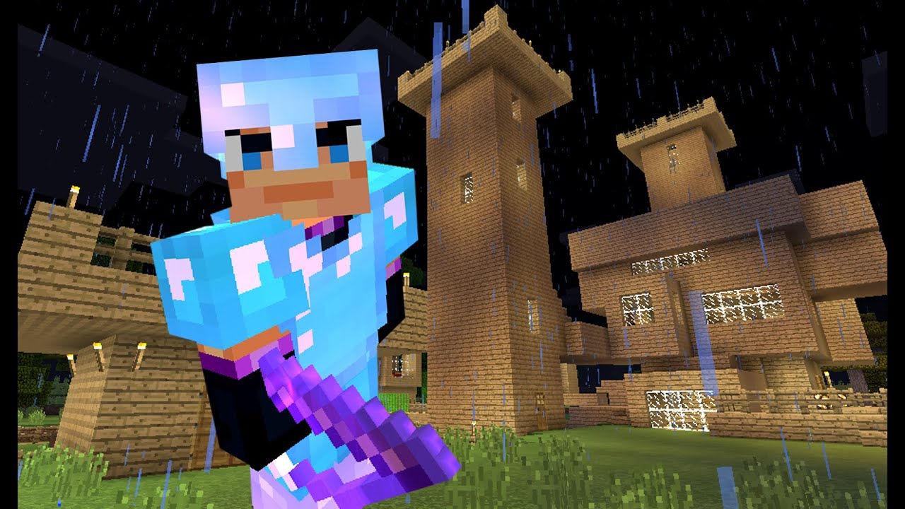 Строю Хранилище :) Игра Minecraft на телефоне. Выживание ...
