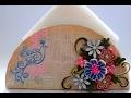 Tissue Paper Holder Quilled Tissue Paper Holder 3d Quilling