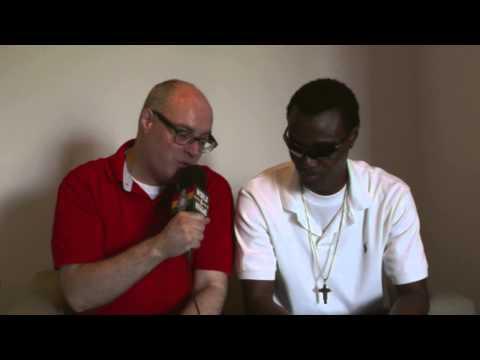 Interview with Wayne Wonder at Club Storm Eindhoven (NL)