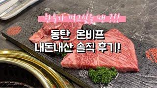 [동탄 맛집] 동탄 온비프 | 동탄 한우 코스요리
