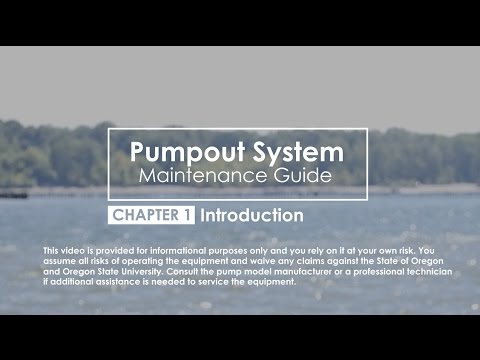 Chapter 1 Introduction: Pumpout System Maintenance Guide