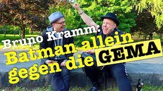 Bruno Kramm: Batman allein gegen die GEMA   Studio-Frühstück Spezial