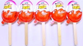 vuclip Kinder Popsicles Edition Surprise Eggs New